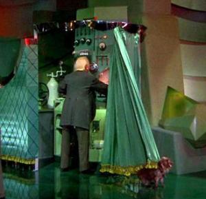 los--man behind curtain